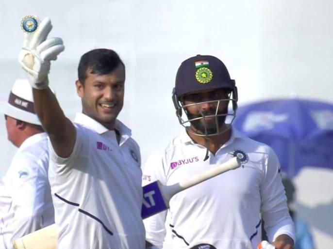 India vs Bangladesh, 1st Test: Mayank Agarwal told Kohli that he has got to his double century; Guess how Kohli responded?   India vs Bangladesh, 1st Test: द्विशतक झालं, आता काय?; मयांकच्या प्रश्नावर कोहली म्हणाला...