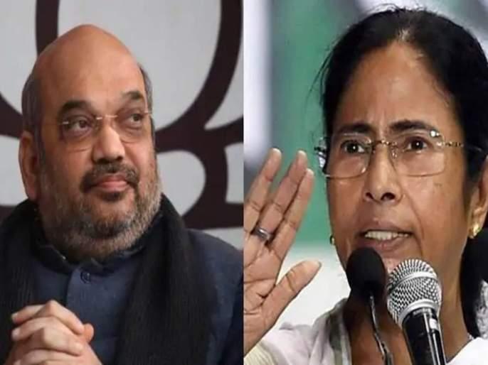 Amit Shah says NRC applies across India, Mamata Banerjee says not in West Bengal | बंगालमध्ये NRC लागू होऊ देणार नाही, ममता बॅनर्जी अमित शाहांवर निशाणा