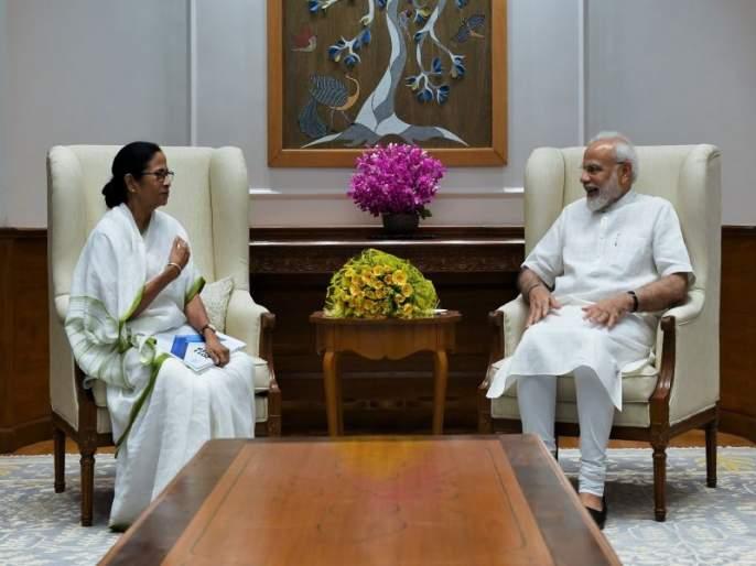 Mamata Banerjee meets Prime Minister Narendra Modi | ममता बॅनर्जींनी घेतली पंतप्रधान नरेंद्र मोदी यांची भेट