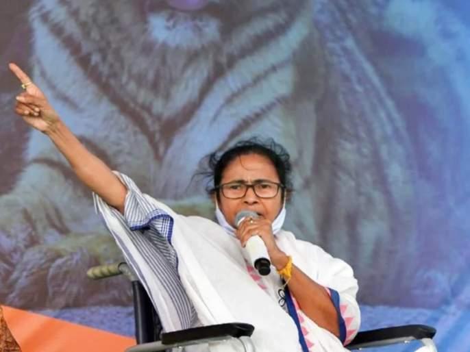 west bengal assembly election 2021 mamata banerjee criticised bjp over corona situation   भाजपने बाहेरच्या लोकांना आणले आणि कोरोनाचा अधिक फैलाव झाला; ममता दीदींची टीका