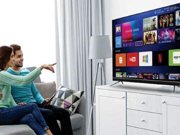 32-inch Smart TV for just Rs 3,232; Great Indian Festival sale at 6 PM | जबरदस्त ऑफर! अवघ्या 3,232 रुपयांत 32 इंची Smart TV; सायंकाळी ६ वाजता अॅमेझॉनवर