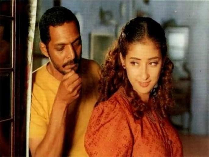 manisha koirala caught nana patekar red handed with Ayesha Jhulka | मनिषा कोईरालाने नाना पाटेकर आणि आयशा जुल्काला पकडले होते 'त्या' अवस्थेत