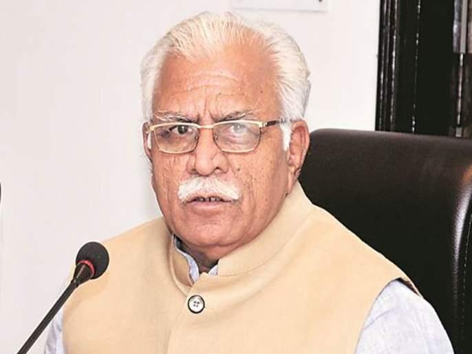 Congress criticizes Haryana chief minister over offensive statement against Sonia Gandhi   खट्टर नव्हे खेचर! सोनिया गांधींबाबत आक्षेपार्ह वक्तव्य करणाऱ्या हरयाणाच्या मुख्यमंत्र्यांवर काँग्रेसची टीका
