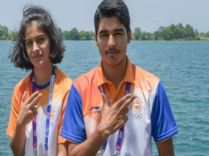 Indian shooter Manu Bhakre and Saurabh Chaudhary creat World record | नेमबाज मनू भाकेर व सौरभ चौधरी यांचा विश्वविक्रम