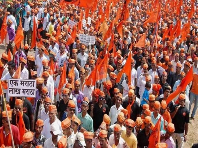 So once again, the Maratha community has a strong march against the government | ...म्हणून पुन्हा एकदा मराठा समाजाचा सरकारविरोधात मंत्रालयावर धडक मोर्चा