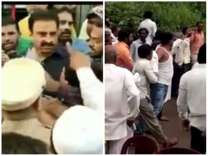 maharashtra assembly election 2019 Disputes in some areas in Marathwada   Maharashtra Election 2019; मराठवाड्यात अनेक ठिकाणी राडा!
