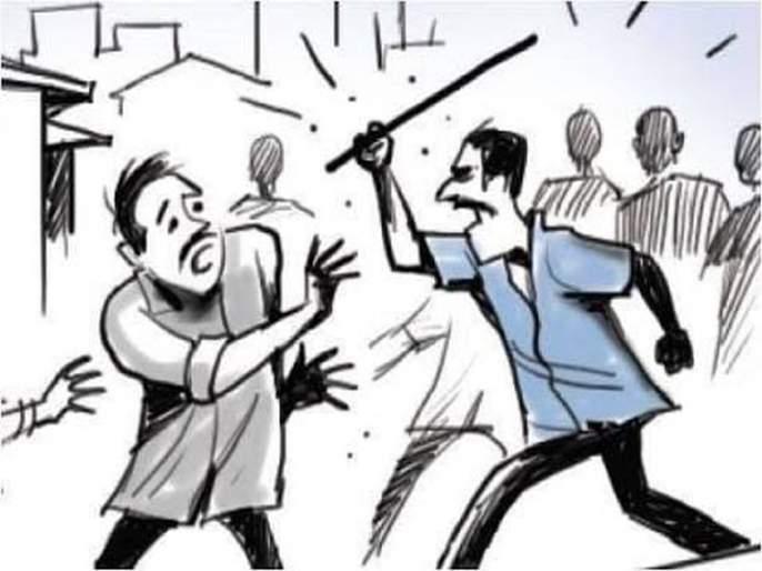 senior citizen manhandled, the incident at Marusal | क्षुल्लक कारणावरून वृद्धास मारहाण, मारसूळ येथील घटना