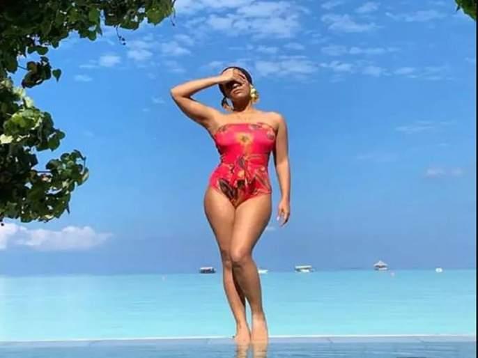 Masaba Gupta Throwback Maldives vacation photo winning heart on internet during Lockdown-SRJ | लॉकडाऊनमध्ये नीना गुप्ताच्या मुलीने शेअर केला असा फोटो तर युजर्स म्हणाले.....