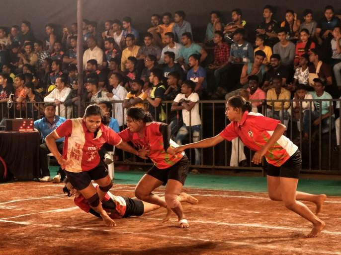 Kabaddi: The final sangharsha sports club fight against Mahatma Gandhi sports club in the sports teams | कबड्डी : महात्मा गांधी विरुद्ध संघर्ष स्पोर्ट्स संघांतअंतिम लढत