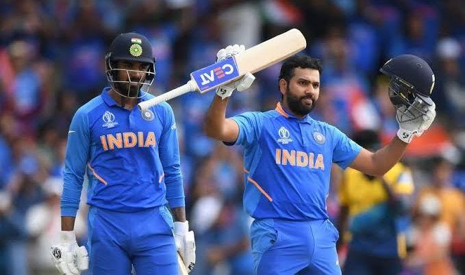 India vs West Indies: Rohit sharma and lokesh Rahul smashed bowlres; india given target to 241 runs to West Indies   India vs West Indies : रोहित, राहुल आणि कोहलीने धू धू धुतले; वेस्ट इंडिजपुढे २४१ धावांचे आव्हान ठेवले