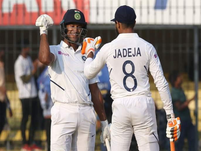 India vs Bangladesh, 1st Test: Mayank Agarwal double century; Team India take 343 runs lead in 2nd Day | India vs Bangladesh, 1st Test: मयांकची विक्रमांची आतषबाजी; टीम इंडियाकडे मजबूत आघाडी