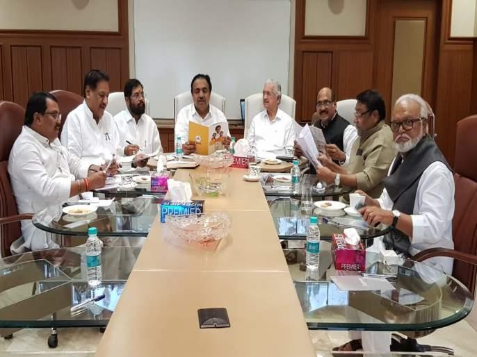 Maharashtra Government: Finally, the meeting of the Mahashivaghadi begins; Shiv Sena's two leader present | Maharashtra Government: अखेर महाशिवआघाडीची बैठक सुरू; आघाडीचे सहा तर शिवसेनेचे दोन नेते उपस्थित