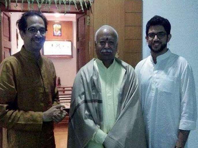 RSS chief mohan bhagwat likely to discuss Uddhav Thackeray | उद्धव ठाकरेंशी सरसंघचालक चर्चा करण्याची शक्यता