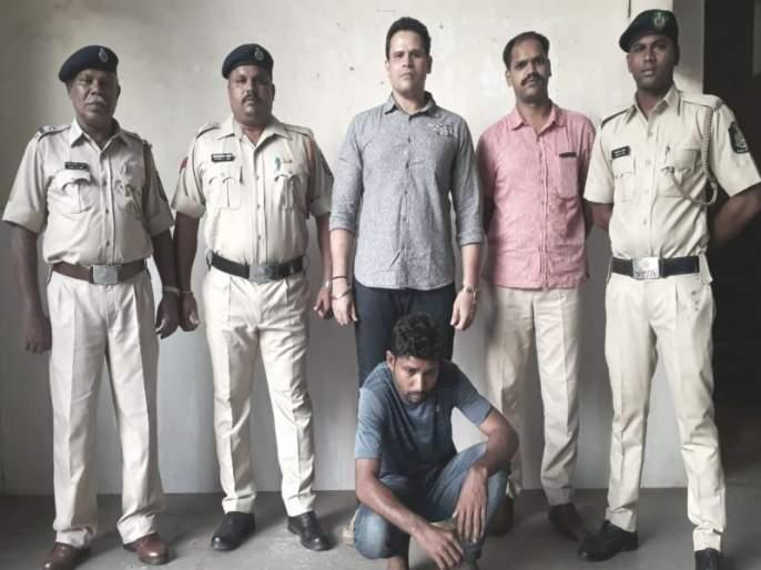 26 lakhs of Ganja seized in Madgaon, arrested by Bihari youth   मडगावात अडीच लाखांचा गांजा जप्त, बिहारी युवकाला अटक