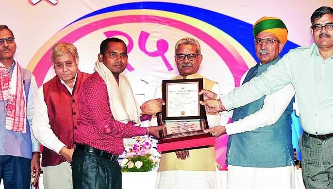 Small business should lay the foundation of development: Arjun Ram Meghwal | लघु उद्योग देशविकासाचा पाया बनावा: अर्जुनराम मेघवाल