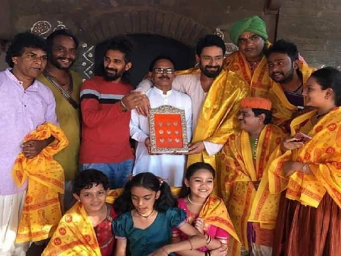The blessings of Sai Baba reached 'My Sai' set | साई बाबांचा आशीर्वाद पोहोचला 'मेरे साई'च्या सेटवर