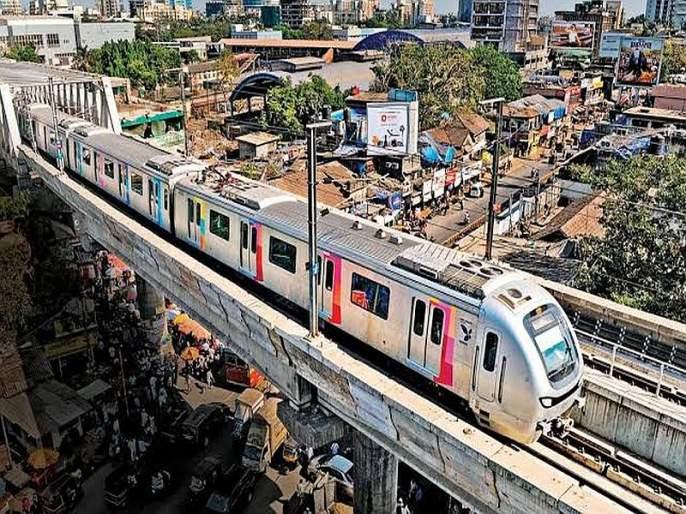 Transport of Metro -01 interrupted, due to technical reasons | Mumbai Metro : तांत्रिक कारणामुळे मेट्रो-१ ची वाहतूक विस्कळीत, दुरूस्तीनंतरपूर्ववत