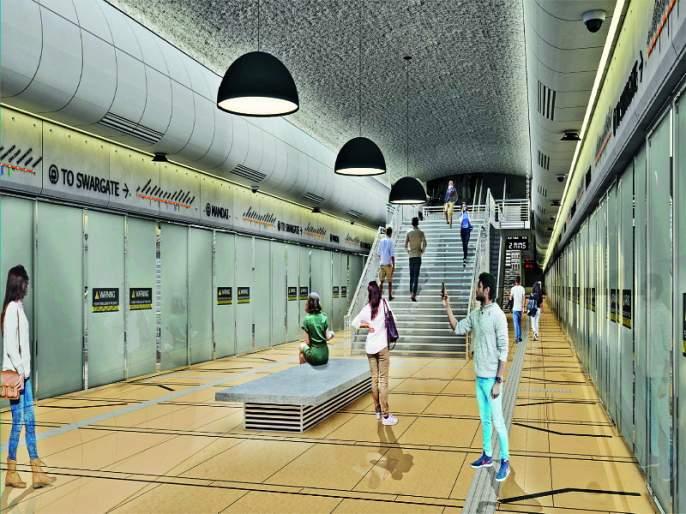 There will be 5 stations under 28 meters under metro area in the Pune city   पुणे शहराचा चेहरा बदलणाऱ्या मेट्रोच्या जमिनीखाली २८ मीटरवर असणार ५ स्थानके
