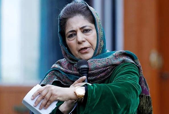 'Mehbooba Mufti should go to Pakistan with her family, Deputy CM's Nitin Patel statement' | 'मेहबुबा मुफ्तींनी सहकुंटुब सहपरिवार पाकिस्तानला जावे, उपमुख्यमंत्र्यांचा सल्ला'