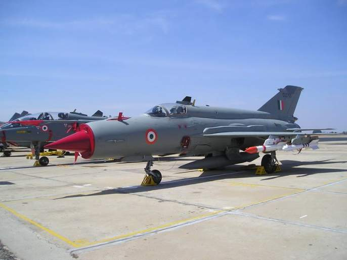 Air Force MiG-21 fighter jet crashes, Captain A Gupta martyred | वायूसेनेचे मिग-21 लढाऊ विमान कोसळले, कॅप्टन ए गुप्ता शहीद