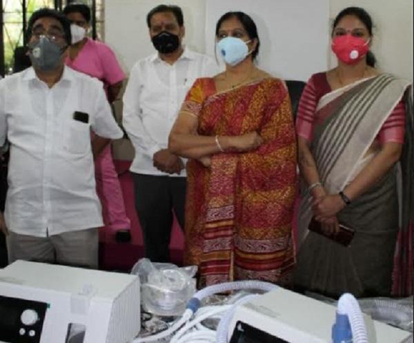 CoronaVirus News: Citizens of Mira Bhayander relieved by 'High-Flow Oxygen' devices | CoronaVirus News :मीरा भाईंदरमधील नागरिकांना 'हाय-फ्लो ऑक्सिजन' यंत्रांमुळे दिलासा