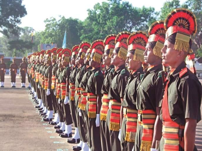 After training in MIRC, 3 Jawans enter the army | एमआयआरसीतील प्रशिक्षणानंतर १८५ जवान सैन्यात दाखल