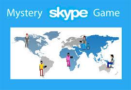 Have you ever played Mystery Skype?   तुम्ही कधी मिस्ट्री स्काईप हा गेम खेळलात का?