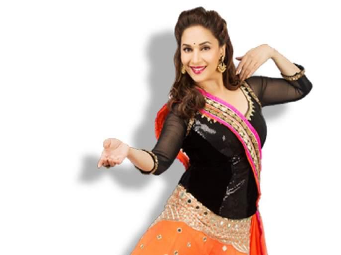 Madhuri Dixit dancing on Zingat Instead of whistle | माधुरी दीक्षित शिट्टी वाजविण्याऐवजी थिरकणार 'झिंगाट'वर, जाणून घ्या याबद्दल
