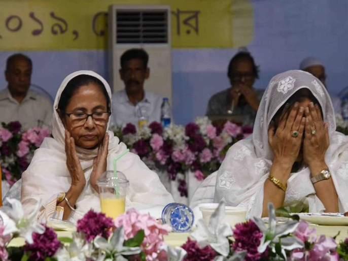 Happy greetings from Mamata Banerjee on ramadan Eid, Netizens said 'Jai Shriram' Dadi | ममता बॅनर्जींकडून ईदच्या शुभेच्छा, नेटीझन्स म्हणाले 'जय श्रीराम' दीदी