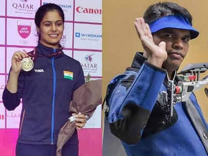 Deepak Tokyo Olympic ticket, Manu Bhakar won gold medal | दीपकला टोकियो ऑलिम्पिकचे तिकीट, मनू भाकरने जिंकले सुवर्ण पदक