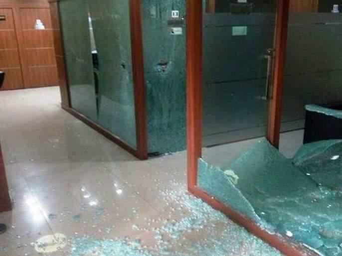 Mumbai Congress office tragedy: Sandeep Deshpande, 8 others including police custody | मुंबई काँग्रेस कार्यालय तोडफोड प्रकरण : मनसेचे नेते संदीप देशपांडेंसह 8 जणांना पोलीस कोठडी