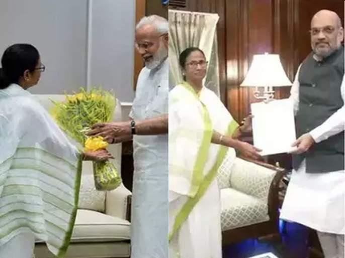 Yesterday PM Narendra Modi, Today Amit Shah; Mamata Banerjee First Visit After Lok Sabha Elections! | काल मोदी, आज शाह; लोकसभा निवडणुकीनंतर दीदींची पहिलीच भेट!