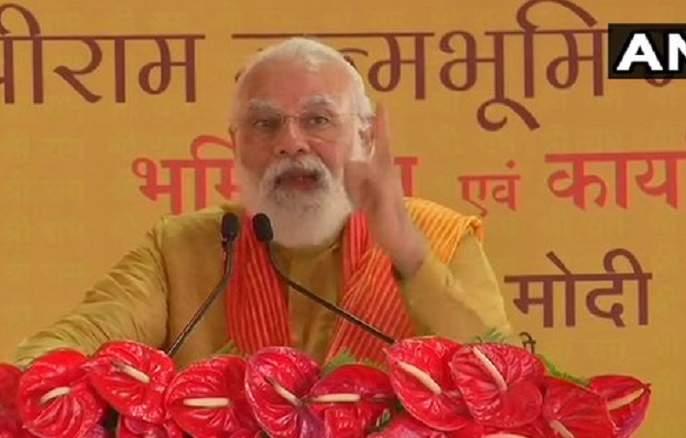 Ram Mandir Bhoomi Pujan: PM Modi to keep 29 year old vow to return and build Ram temple | Ram Mandir Bhumi Pujan : ...अन् नरेंद्र मोदींनी २९ वर्षांपूर्वी दिलेला शब्द पाळला!