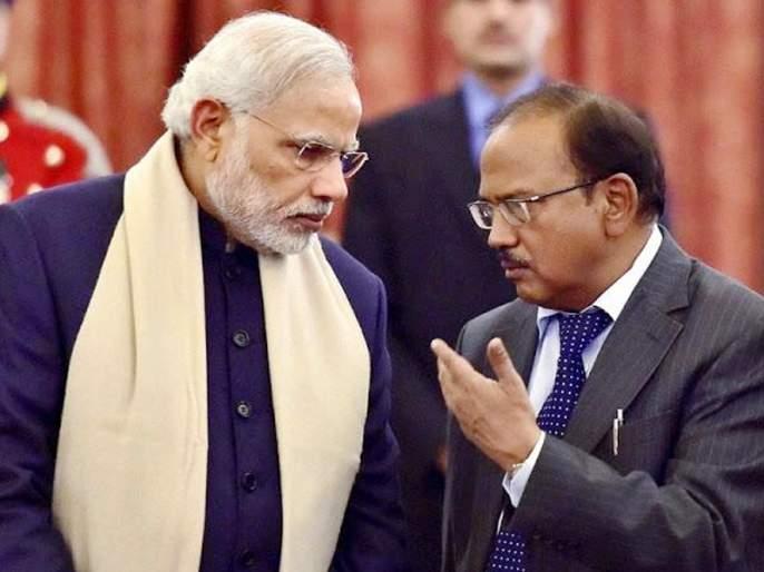 yashwant sinha take a dig at narendra modi over ajit doval reappointment as NSA Chief   अजित डोवालांच्या खांद्यावर बंदूक ठेवून यशवंत सिन्हांचा नरेंद्र मोदींवर नेम