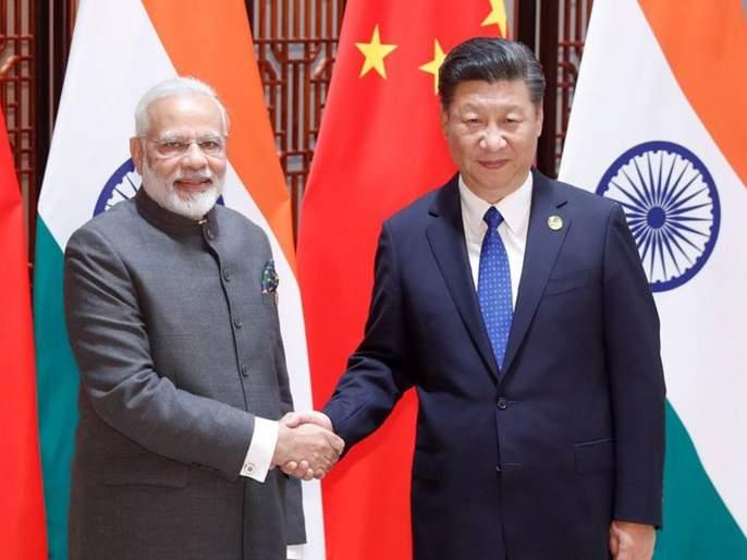 Pm Modi Met Chinese President Discussed terror activities in Pakistan   पाकिस्ताननं कारवाई करण्याची गरज; जिनपिंगसोबतच्या भेटीत मोदींकडून दहशतवादाचा मुद्दा उपस्थित