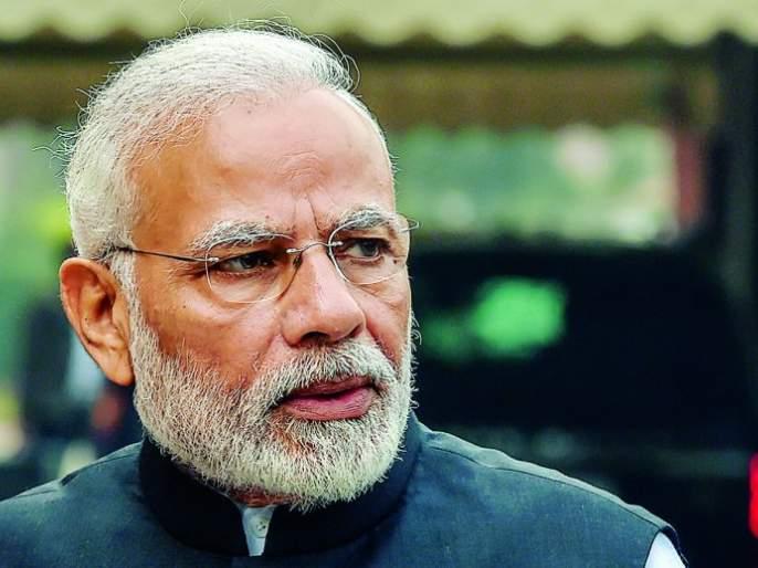 Four lakh postcards reached PM Modi | पंतप्रधान मोदींकडे पोहचले चार लाख पोस्टकार्ड