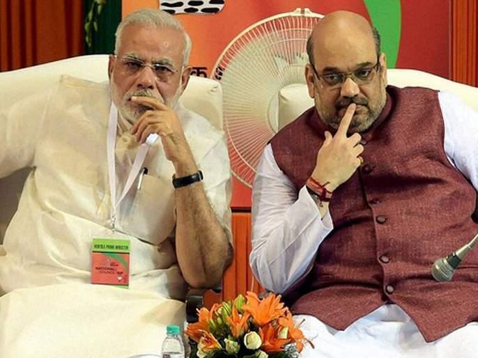 BJP Leader expelled for saying 2 Gujarati Thugs Have Been Fooling People | दोन गुजराती चोर देशाला मूर्ख बनवताहेत; नेतृत्त्वावर टीका केल्यानं भाजपा नेत्याची हकालपट्टी