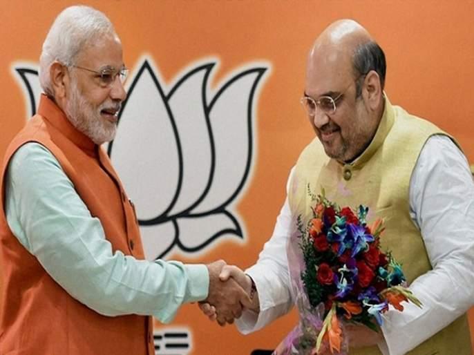 BJP has released list of star campaigners for LokSabha Elections 2019 for Uttar Pradesh | मोदी, शहा भाजपाच्या उत्तर प्रदेशमधील स्टार प्रचारकांच्या यादीत; अडवाणी, मुरली मनोहर जोशींना वगळले