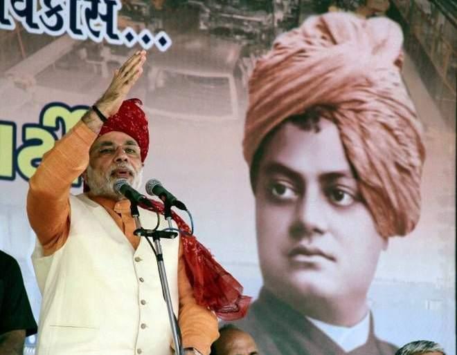 Roots of terrorism are flourishing in our neighborhood says pm Modi in Mathura | जगाला हादरवणारा 'तो' हल्ला अन् विवेकानंदांचं भाषण; मोदींनी सांगितला योगायोग