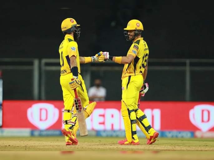 IPL 2021, CSK vs PBKS T20 Live :In MS Dhoni's 200th game for Chennai Super Kings won by wickets 6 wickets   IPL 2021, CSK vs PBKS T20 Live : महेंद्रसिंग धोनीला दोनशेव्या सामन्यात CSKकडून विजयाची भेट; दीपक चहरनं गाजवला दिवस