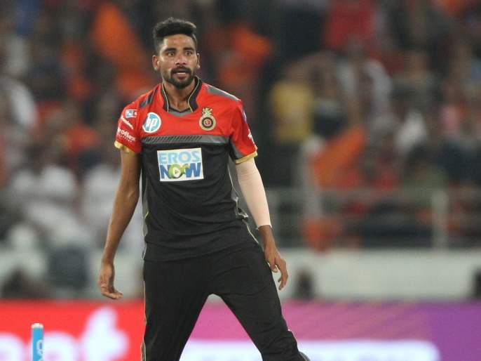 IPL 2021: Mohammed Siraj calls de Villiers an 'alien'; Tweeted viral | IPL 2021 : सिराजने डीव्हिलियर्सला म्हटले 'एलियन'; ट्विट झाले व्हायरल