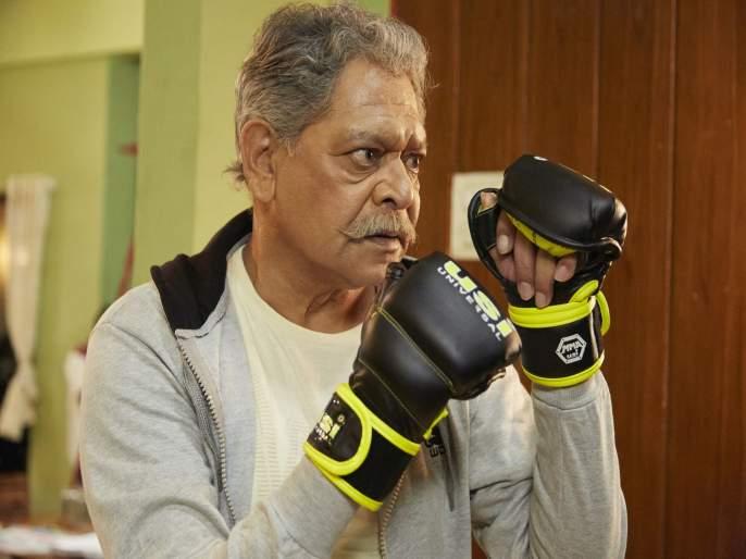 Have you seen Mohan Joshi's 'Rough and Tough' look?   मोहन जोशींचा 'रफ अँड टफ' लूक तुम्ही पाहिला का ?