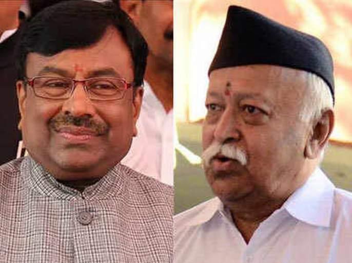 Maharashtra Election 2019: BJPSudhir Mungantiwar meets RSS Mohan Bhagwat | महाराष्ट्र निवडणूक 2019: सुधीर मुनगंटीवारांनी घेतली सरसंघचालक मोहन भागवत यांची भेट