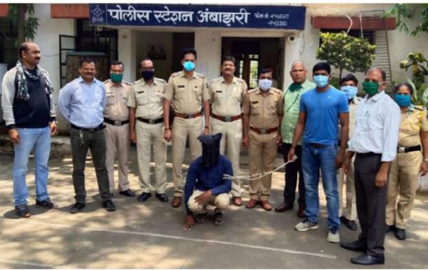 Arrested spreading terror among women and girls in Nagpur | नागपुरात महिला मुलींमध्ये दहशत पसरविणारा गजाआड