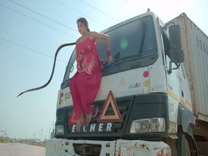 Seeing the stunts of 'Nazar' | 'नजर'मधील नायिकांचे स्टंट पाहून प्रेक्षक झालेत थक्क