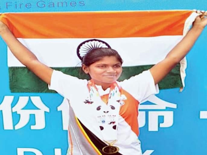 Buldhana female cop monika jadhav stunned in China; won Three medals with two golds | बुलडाण्याच्या महिला पोलिसाचा चीनमध्ये डंका;दोन सुवर्णासह तीन पदके