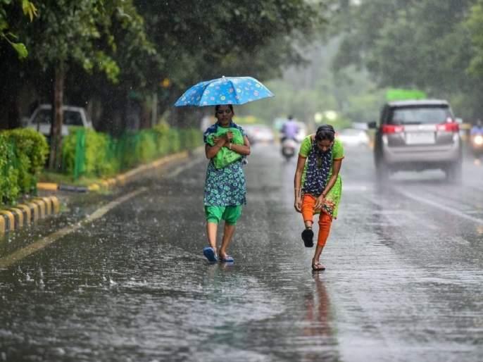 Rainfall in Maharashtra due to two low pressure areas | दोन कमी दाबाच्या क्षेत्रांमुळे महाराष्ट्रात पावसाची शक्यता