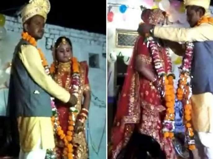 MP men took also married wife with sister in law | पती, पत्नी आणि मेहुणी..पत्नीच्या परवानगीनंतर एकाच मांडवात लग्न, पण का केलं असं?