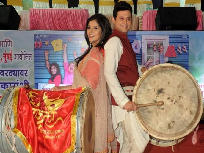 Pinjara Movie Old Song Aali thumkat naar lachkat New Version In Mumbai Pune Mumbai 3 Movie | 'पिंजरा'तील नार ठुमकत पुन्हा रसिकांच्या भेटीला, मुंबई-पुणे-मुंबई ३ सिनेमात नव्या रुपात