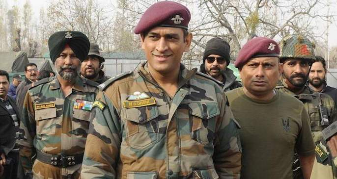 MS Dhoni will go to the army and do exactly what he will do; The plan was told by the Army   धोनी सैन्यात जाऊन नेमकं काय करणार; खुद्द लष्करानं सांगितला माहीचा प्लान